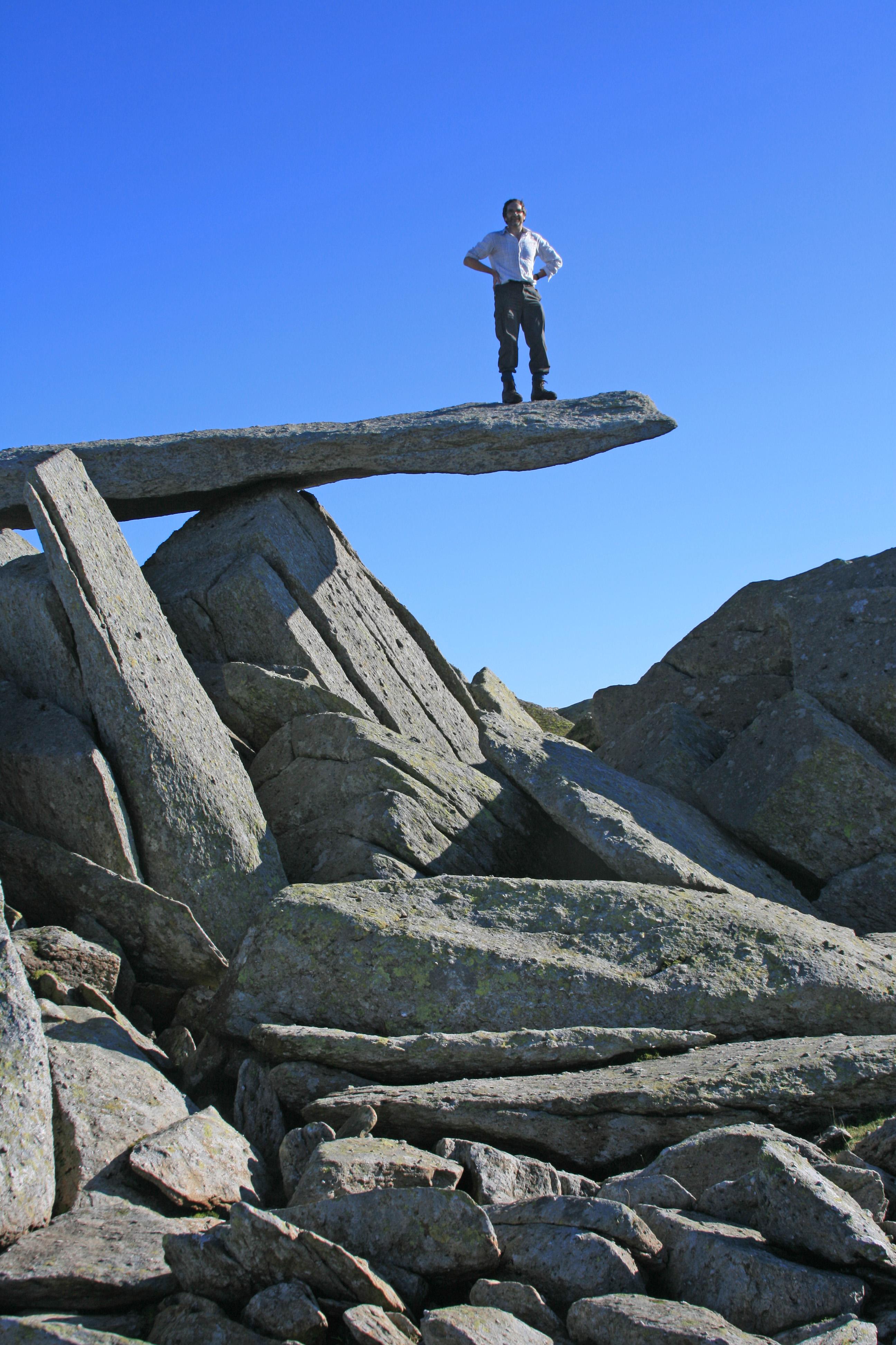 cantilever rock, Glyder Fach