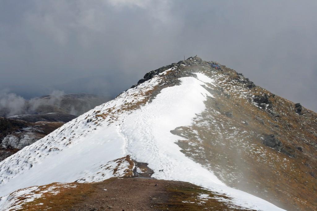east top from summit of Ben Vorlich
