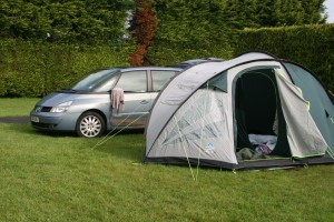 camped at Roundwood