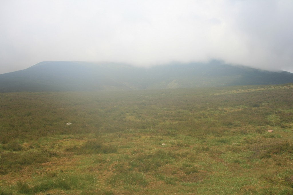 Galtymore, still in the clouds