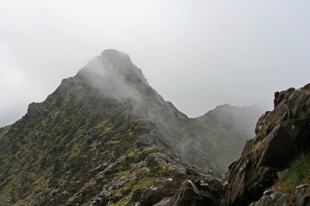 The Big Gun from Cruach Mhor (just before the cloud level dropped)