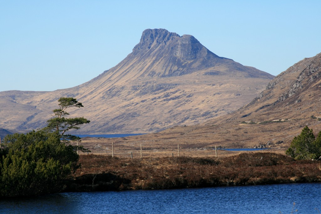 Stac Pollaidh, from Strathcanaird