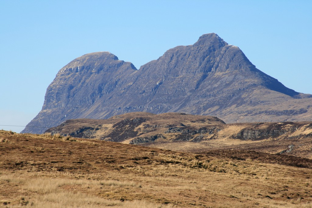 Suilven, from Elphin