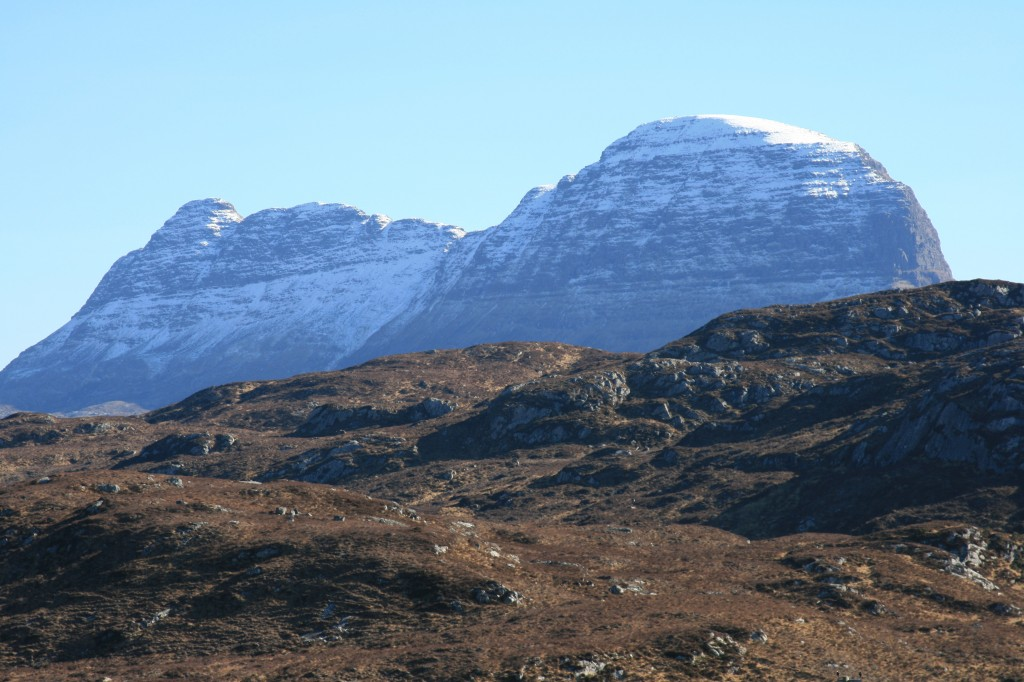 Suilven, from the north