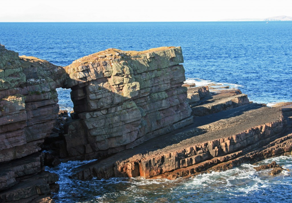 natural arch at Culkein
