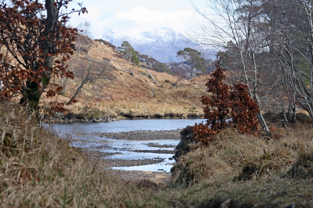 Quinag and the River Inver
