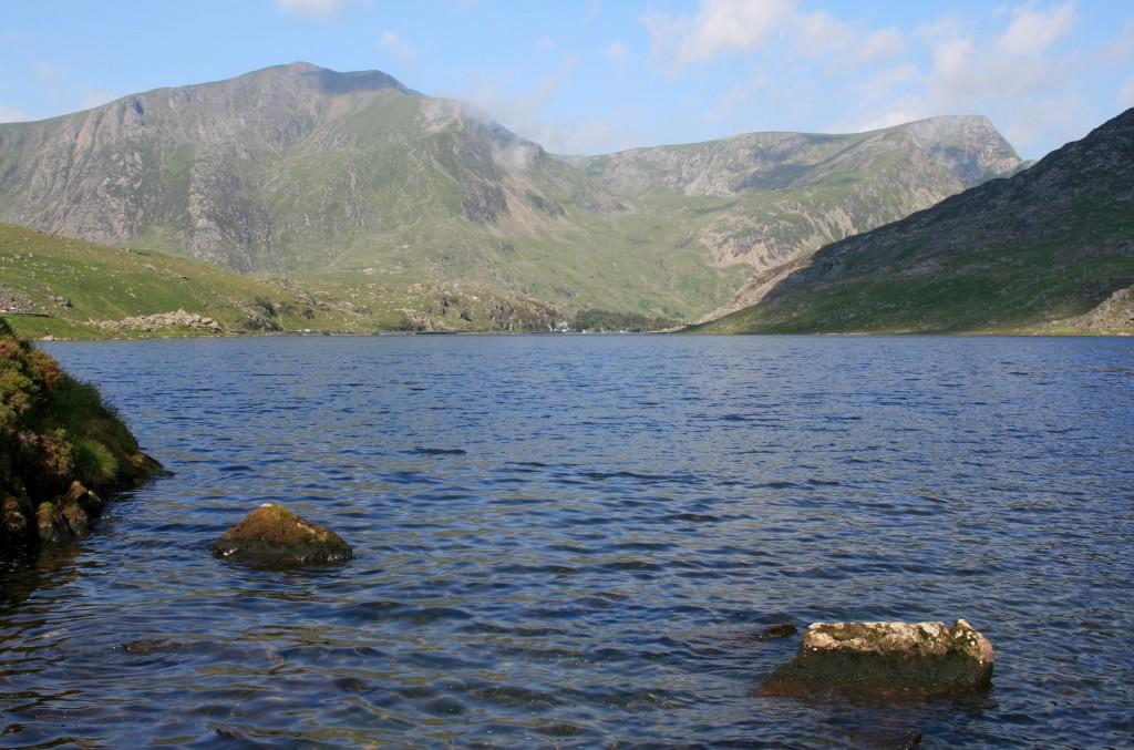 Y Garn and Foel Goch above Llyn Ogwen