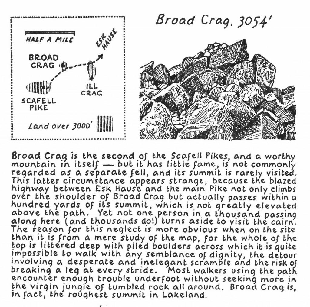Broad Crag according to Wainwright