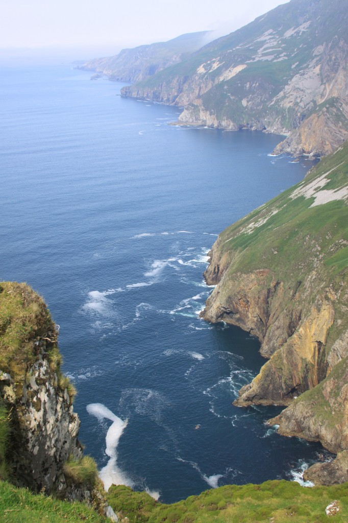 Sliabh Liag, looking down from 1000ft