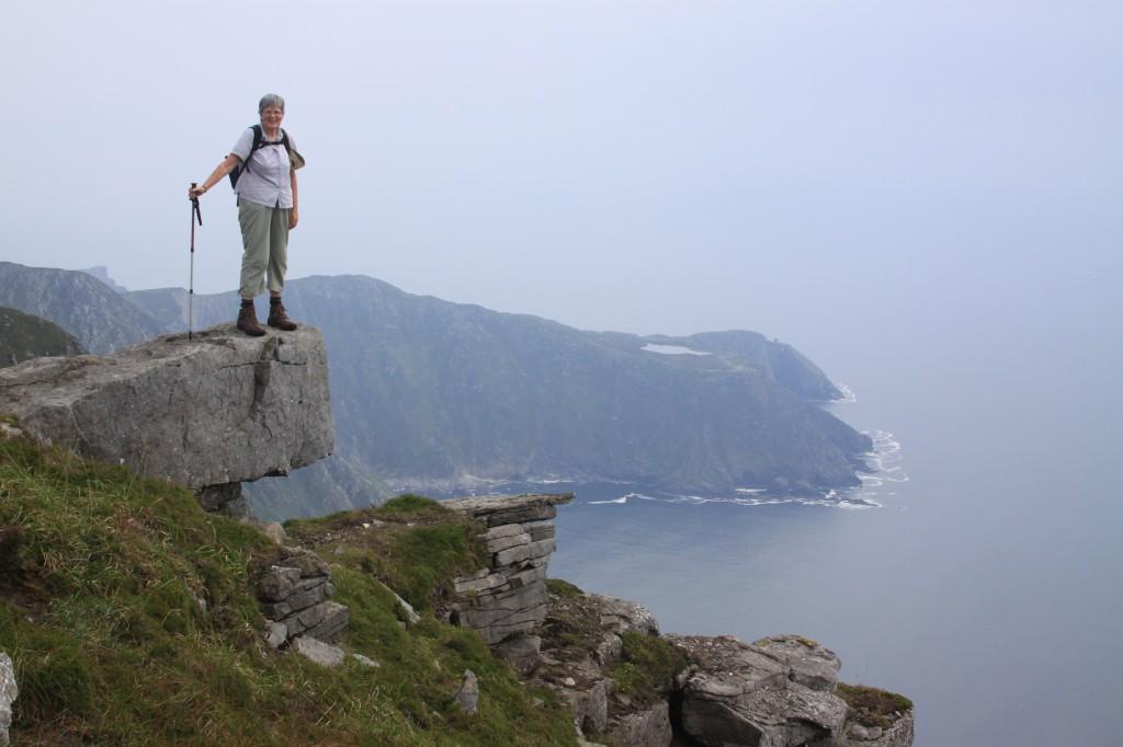summit of Sliabh Liag