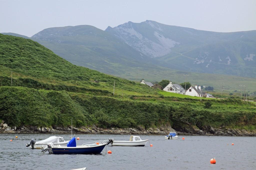 Sliabh Liag from Teelin Harbour