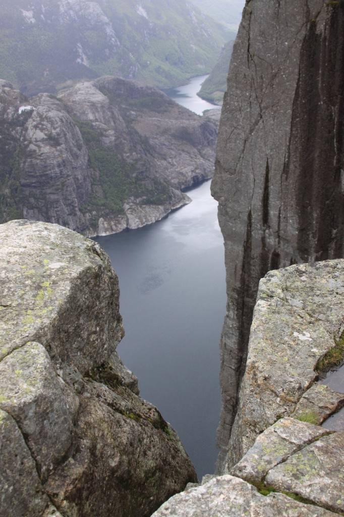 it's a long way down to Lysefjord